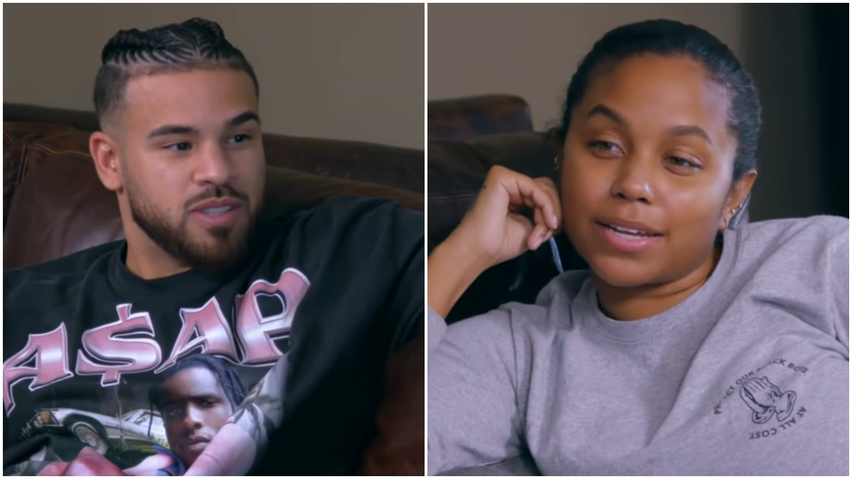 Cheyenne Floyd and Cory Wharton on Teen Mom OG