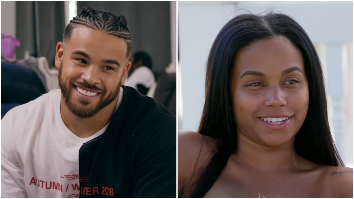 Cory Wharton and Cheyenne Floyd on Teen Mom OG