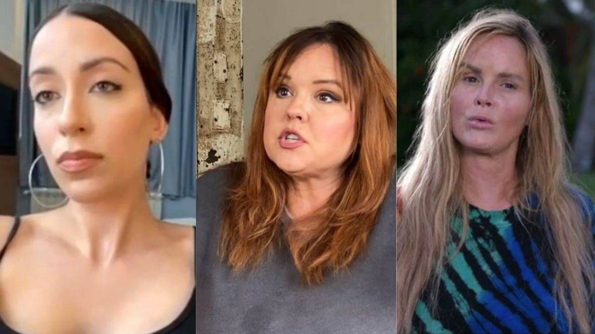 Amira, Rebecca, and Stephanie from 90 Day Fiance