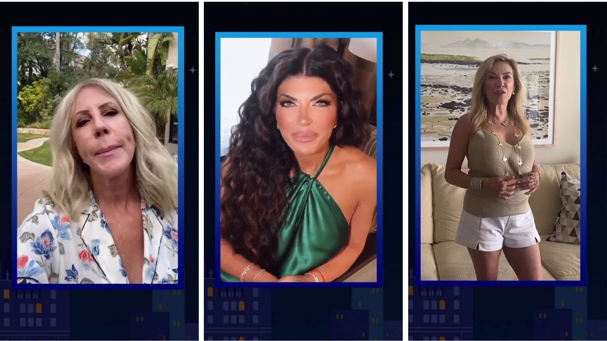 Real Housewives stars Vicki Gunvalson, Teresa Giudice, and Ramona Singer.