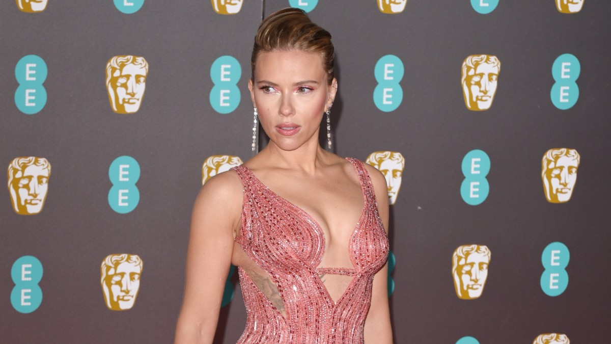 Scarlett Johansson discusses why her political views shouldn't affect her career.