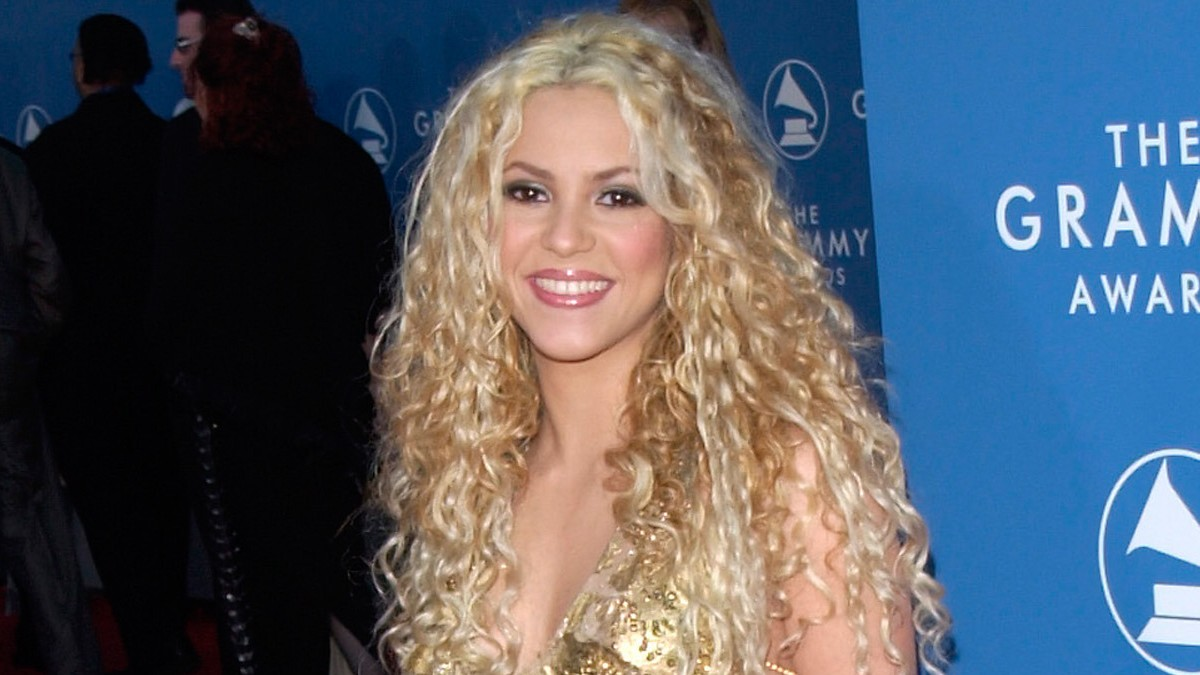 Shakira on the red carpet