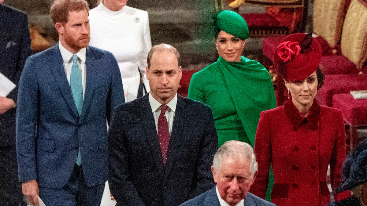 Royal Family attending an event