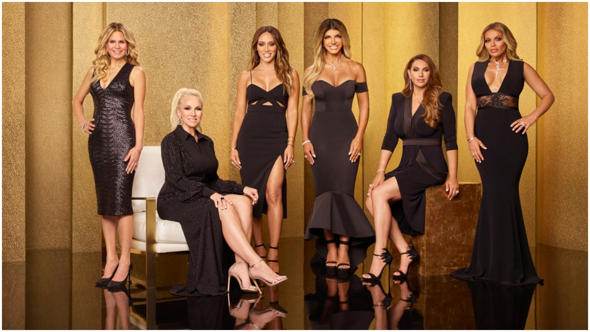 The cast of The Real Housewives of New Jersey.