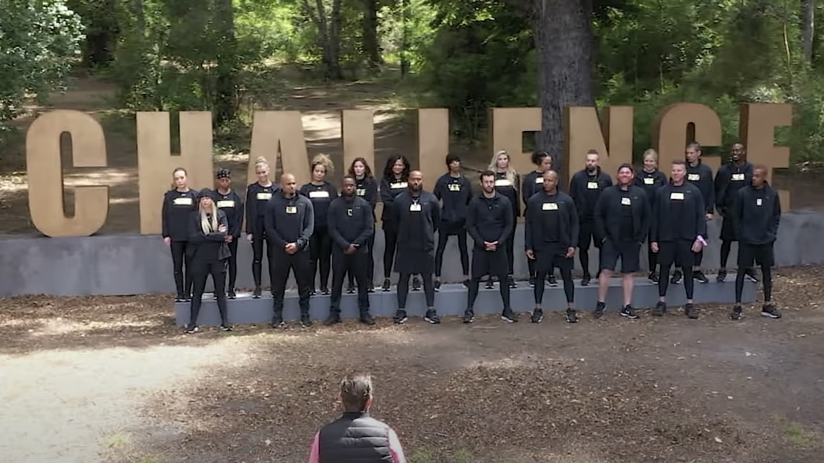 competitors shown from the challenge all stars season