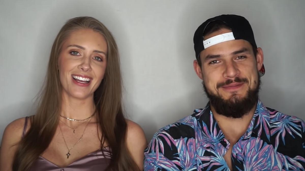 jenna compono zach nichols gender reveal video clip