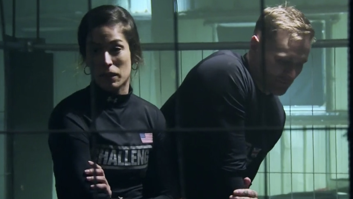 nany gonzalez and kyle christie in the challenge season 36 episode 13