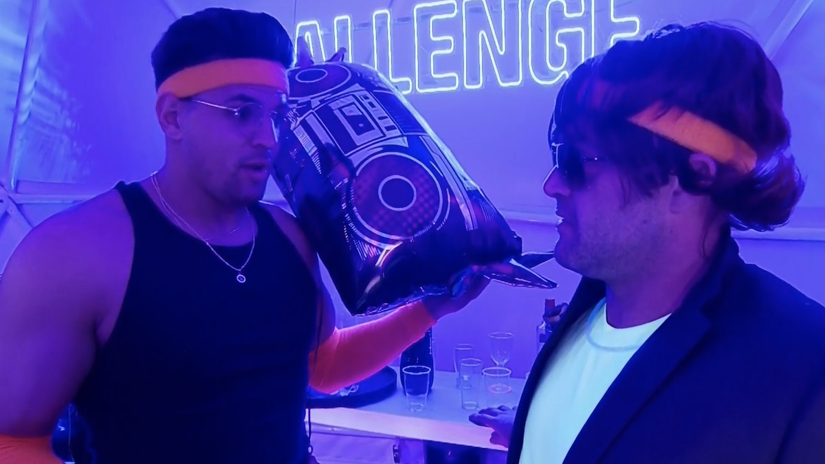 ct tamburello and fessy shafaat in club argument during double agents episode 15