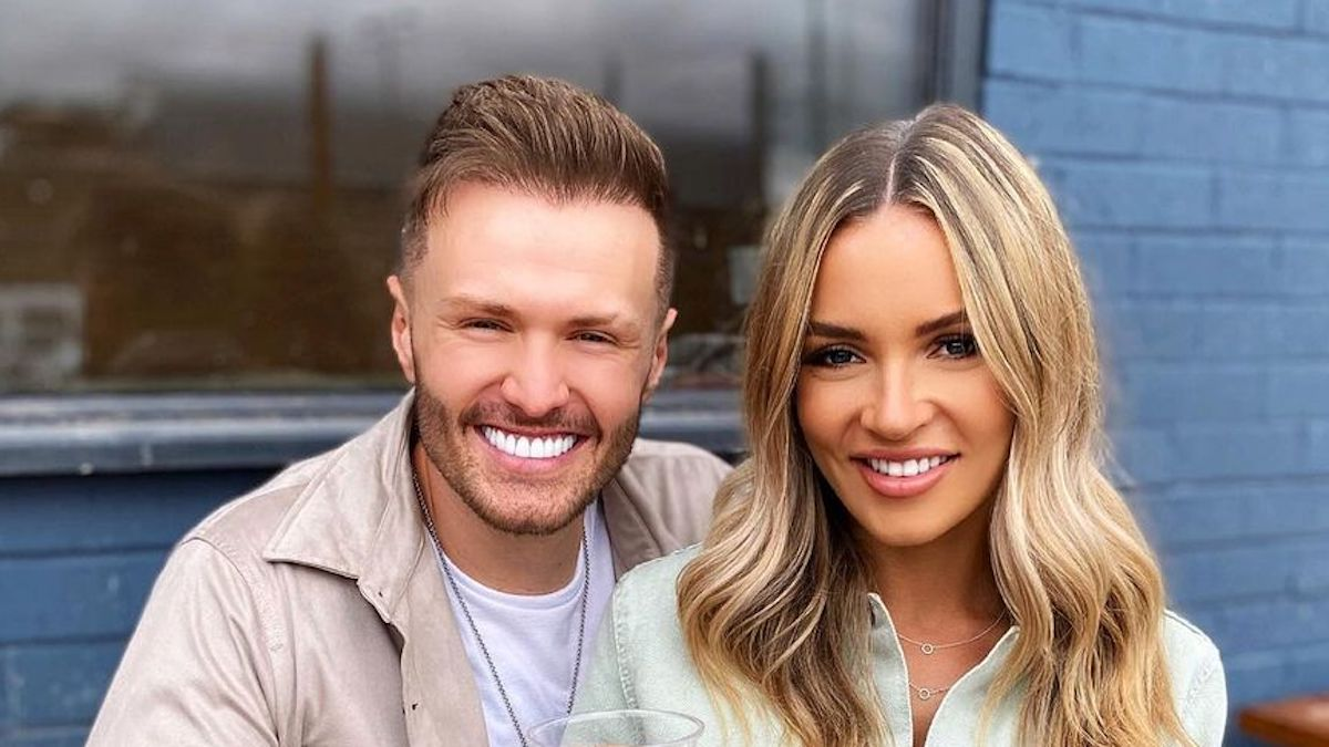 the challenge star kyle christie with girlfriend vicky turner july 2020