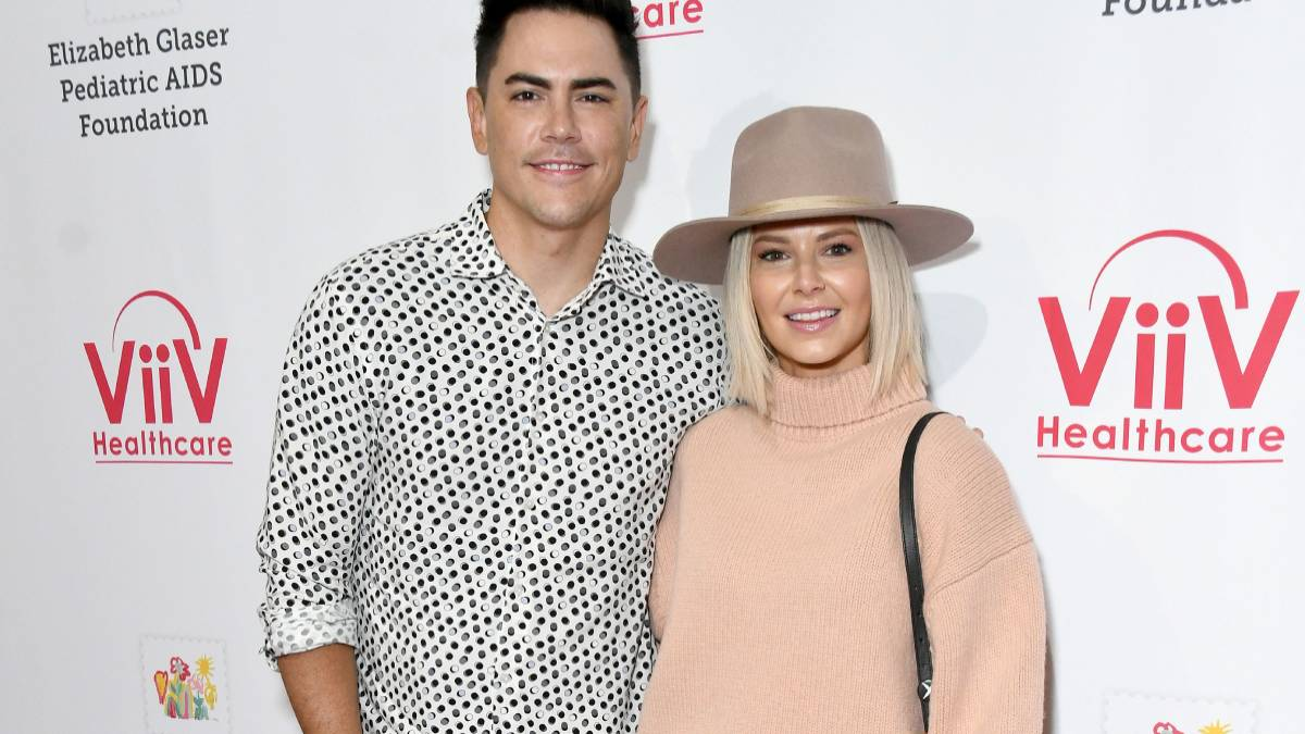 Tom Sandoval and Ariana Madix on the red carpet