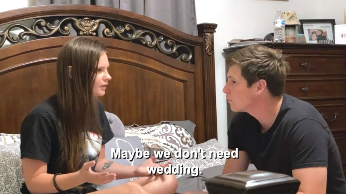 Julia and Brandon from 90 Day Fiance