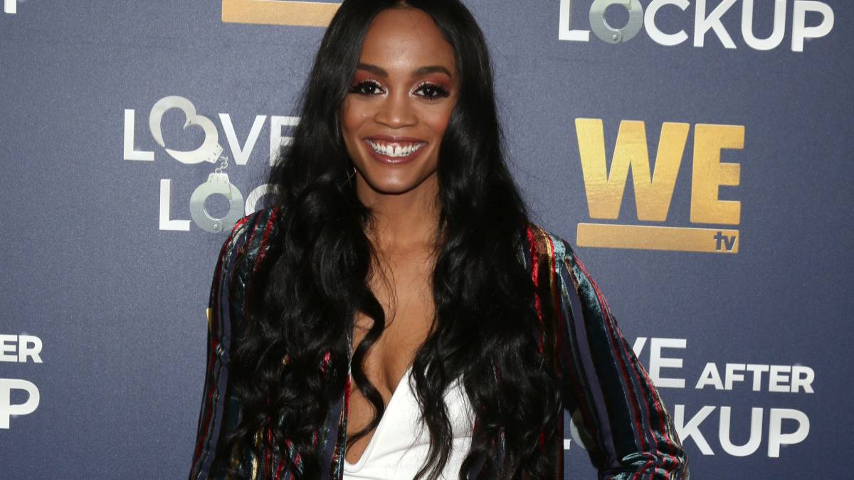 Rachel Lindsay on the red carpet