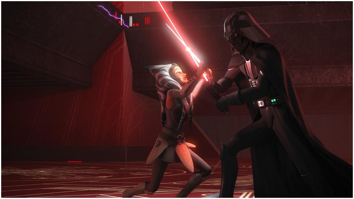 Ahsoka vs Vader