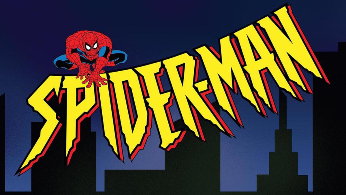 90s animated Spider-Man voice actor Logo.
