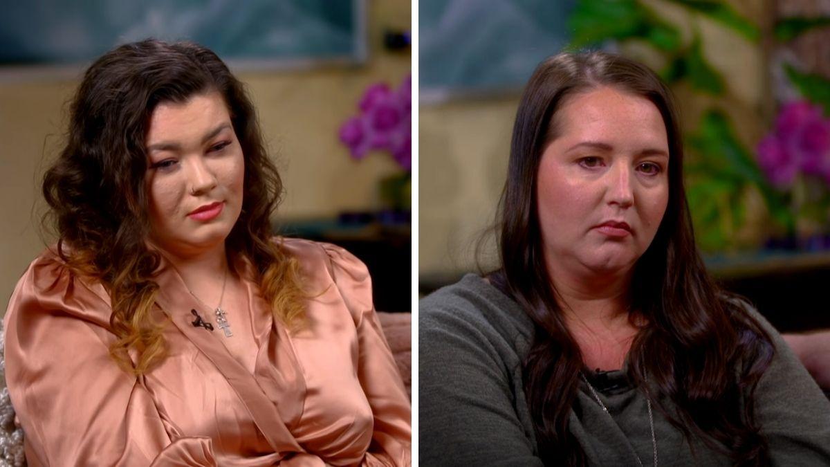 Amber Portwood and Kristina Shirley of Teen Mom OG
