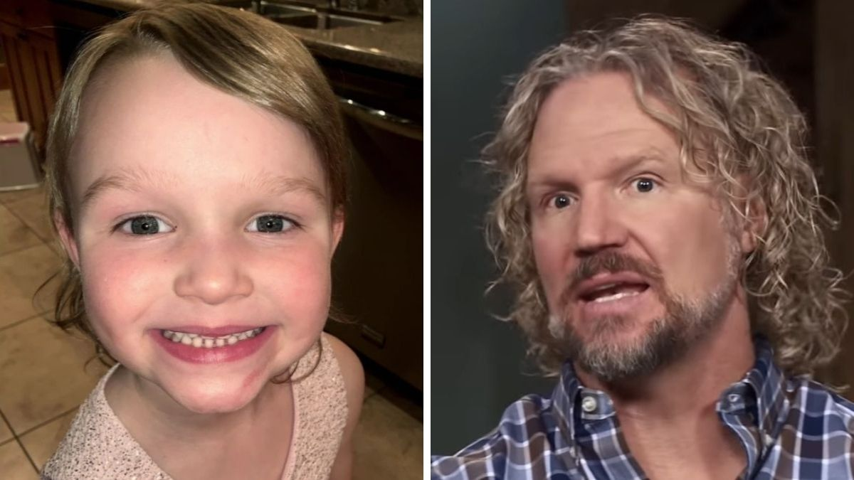 Ariella and Kody Brown of Sister Wives