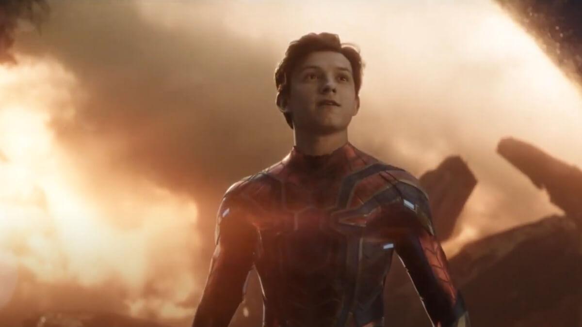 Tom Holland in Avengers: Endgame