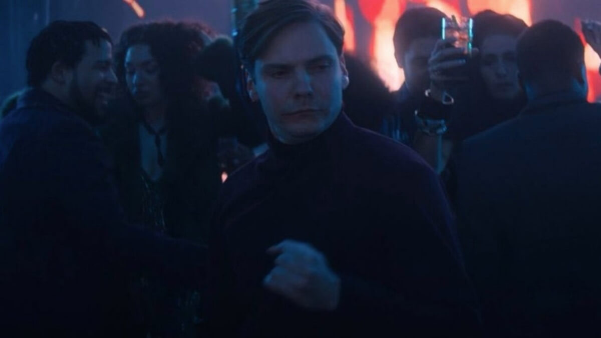 Baron Zemo dancing in The Falcon and the Winter Soldier