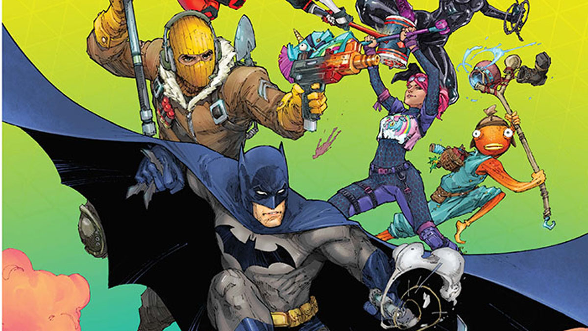 Fortnite director tremendously involved in Batman/Fortnite: Zero Point comic book