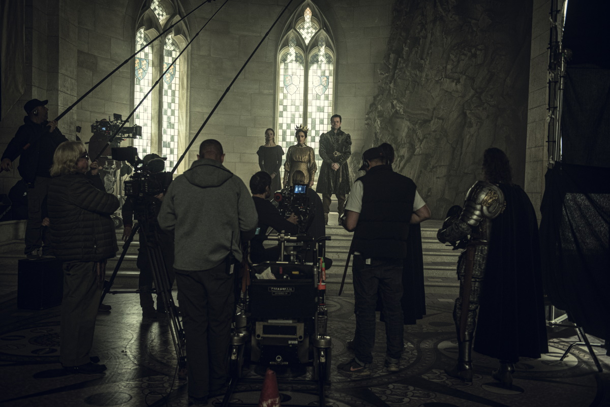 Behind the scenes footage from Season 1 of Netflix's The Witcher