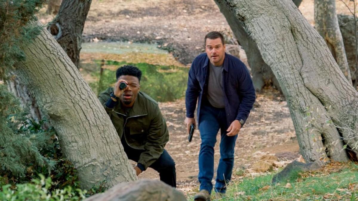 Callen And Rondtree NCIS LA