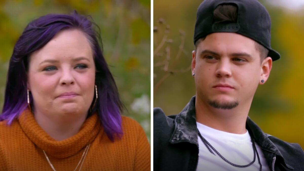 Catelynn and Tyler Baltierra of Teen Mom OG