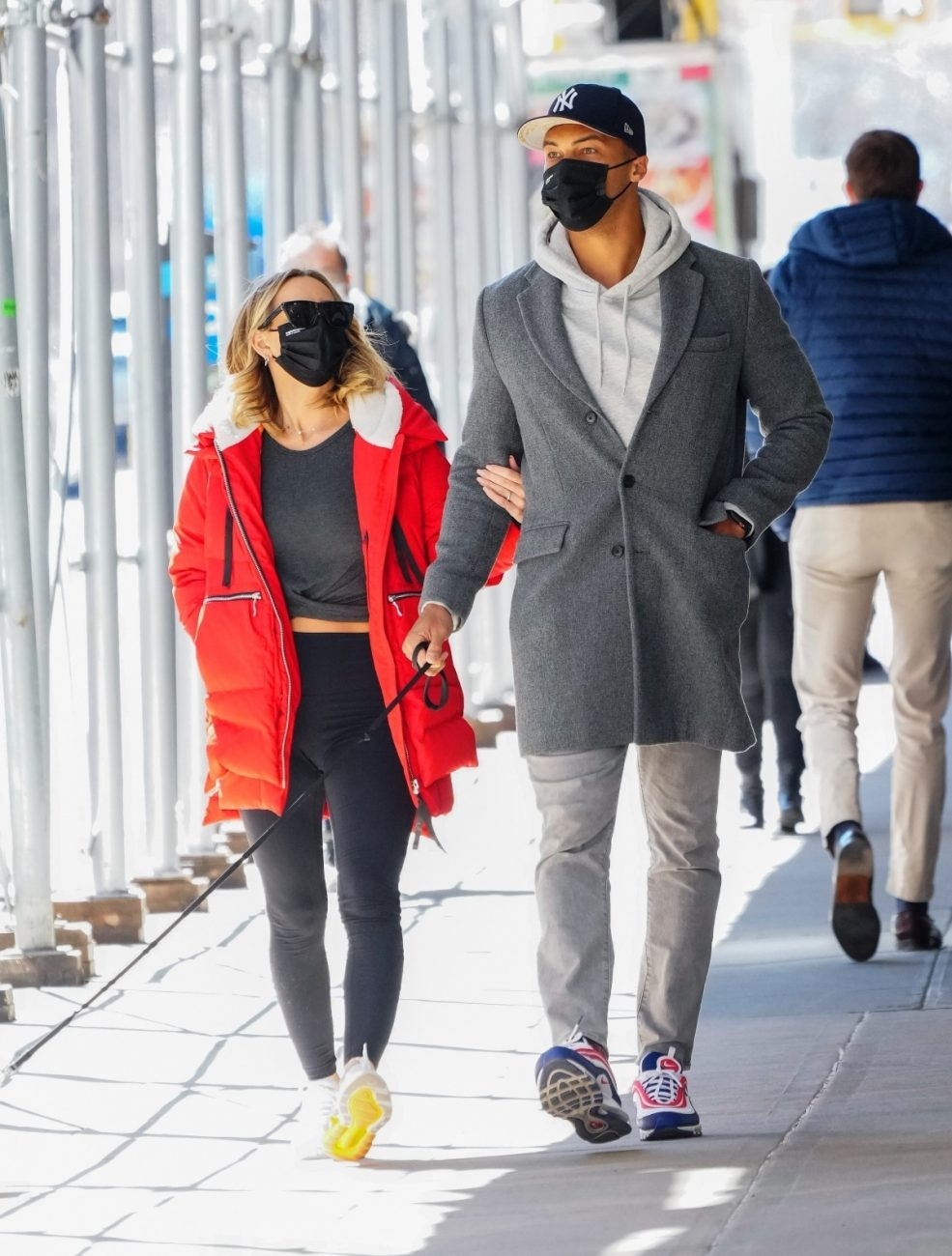 Clare Crawley and Dale Moss stroll in New York City.