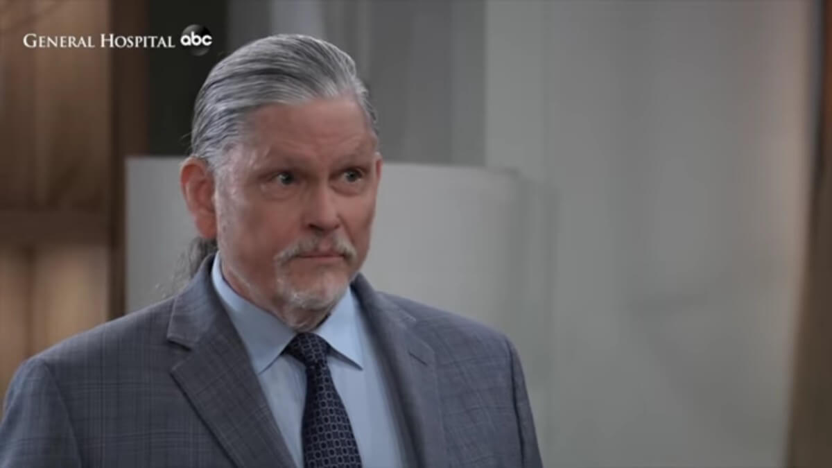 Jeff Kober as Cyrus on General Hospital.