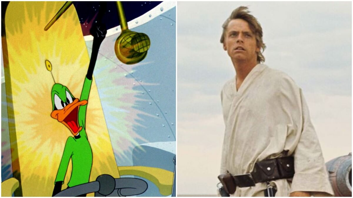 Mark Hamill says George Lucas wanted a Daffy Duck cartoon to play before Star Wars