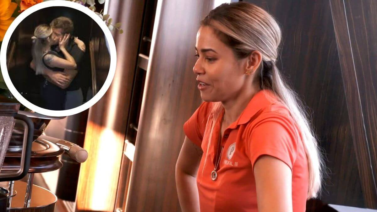 Dani from Below Deck Sailing Yacht dishes Jean-Luc boatmance