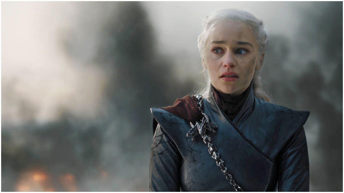 Emilia Clarke stars as Daenerys Targaryen, as seen in Season 8 of HBO's Game of Thrones