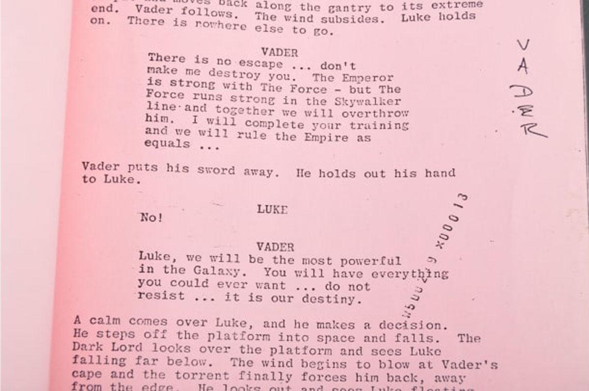 Empire Strikes Back script