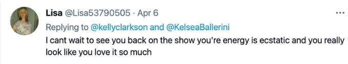 Fans missed Kelly Tweet on The Voice