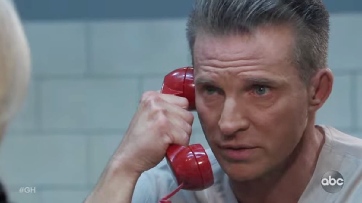 Steve Burton as Jason on General Hospital.