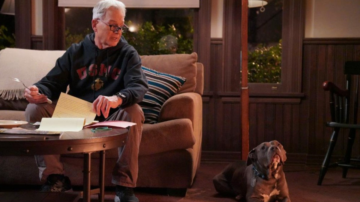 Gibbs And Dog NCIS
