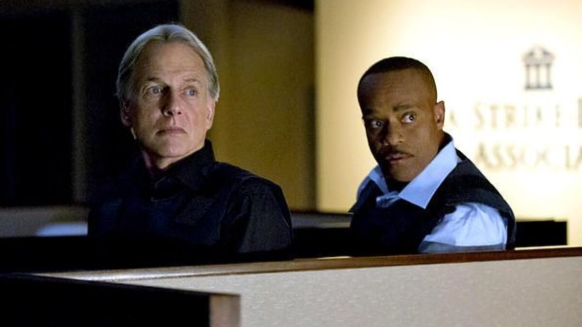 Gibbs And Vance On NCIS
