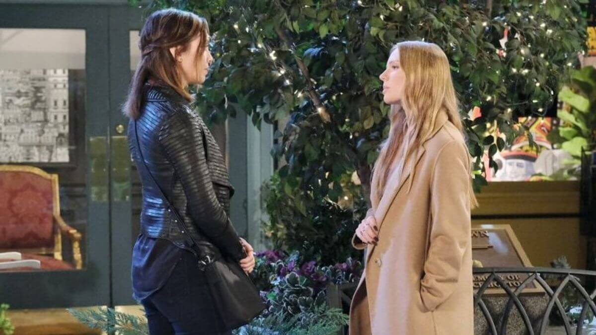 Days of our Lives spoilers tease Abigail crosses a line with Gwen.