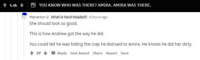 Reddit comments about Andrew Kenton