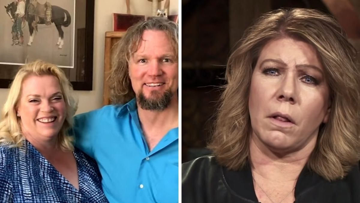 Janelle, Kody and Meri Brown of Sister Wives