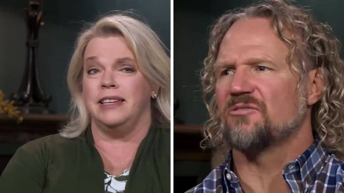 Janelle and Kody Brown of Sister Wives