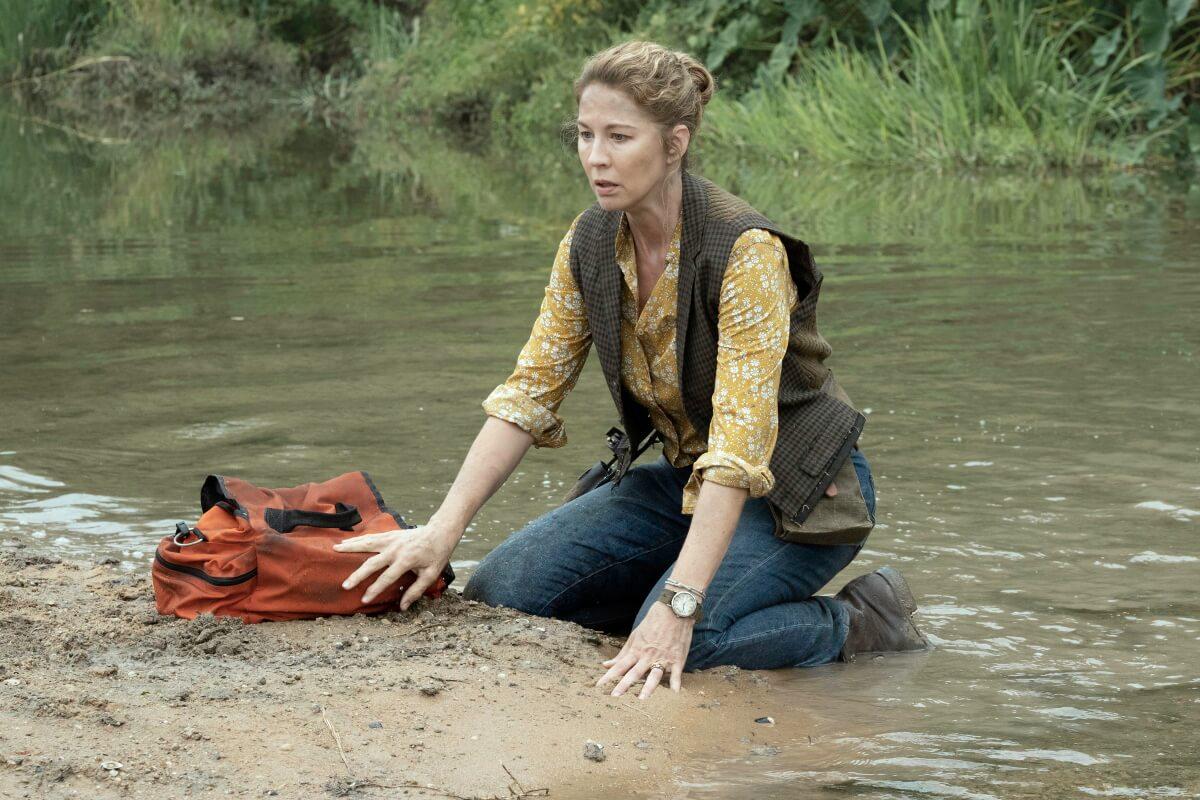 Jenna Elfman stars as June, as seen in Episode 8 of AMC's Fear the Walking Dead Season 6
