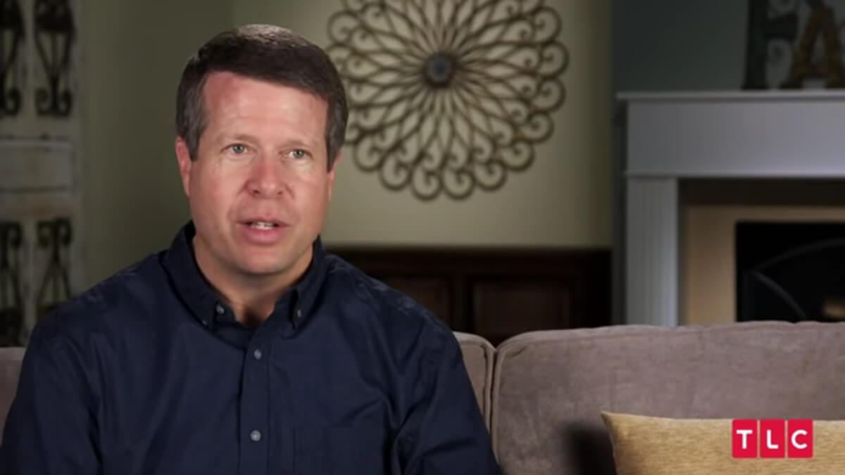 Jim Bob Duggar in a Counting On confessional.
