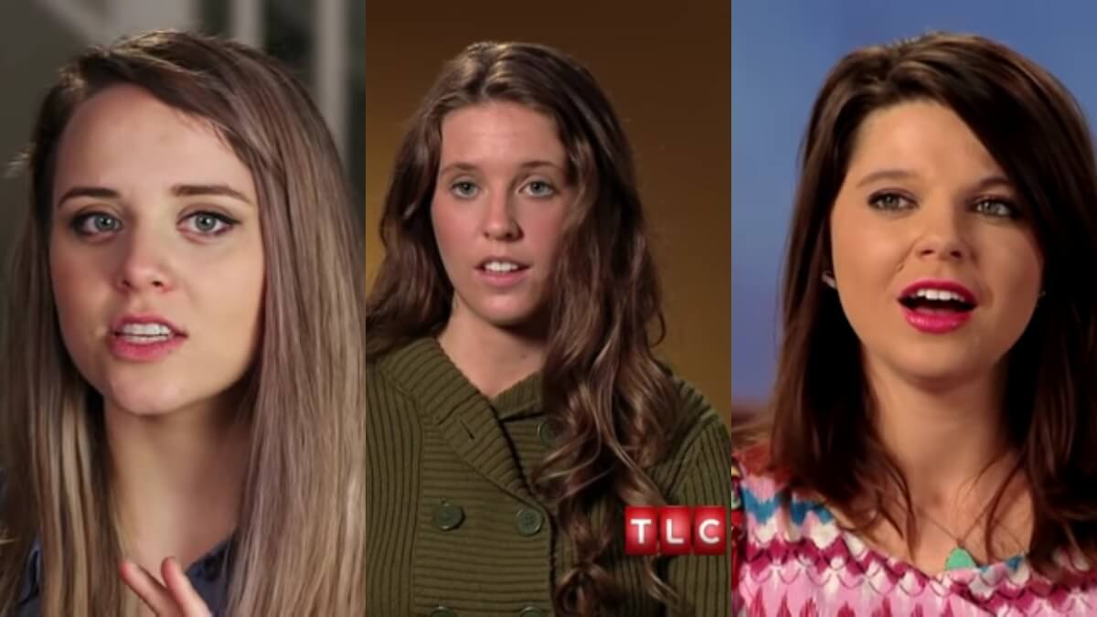 Jinger, Jill and Amy all in TLC confessionals.