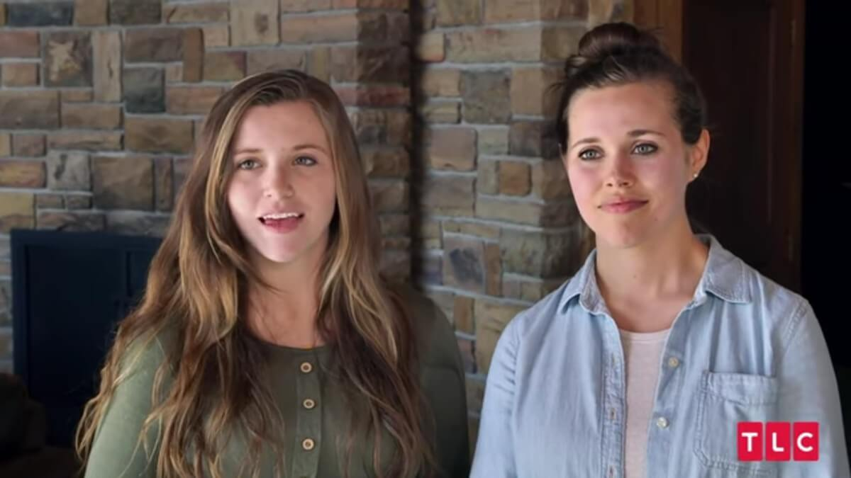 Joy-Anna and Jessa Duggar on Counting On.
