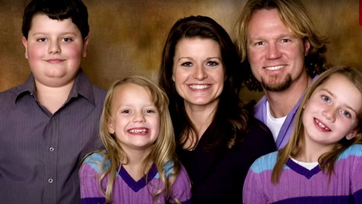 Kody, Robyn, Dayton, Aurora and Breanna Brown of Sister Wives