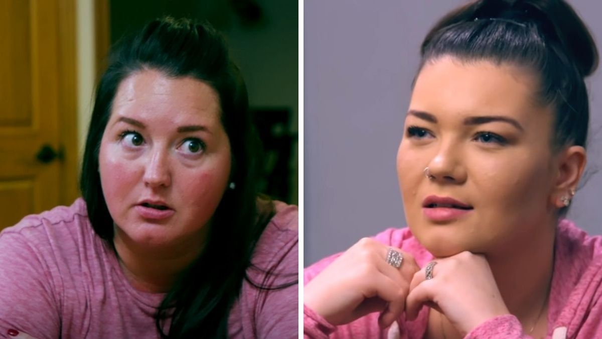 Kristina Shirley and Amber Portwood of Teen Mom OG
