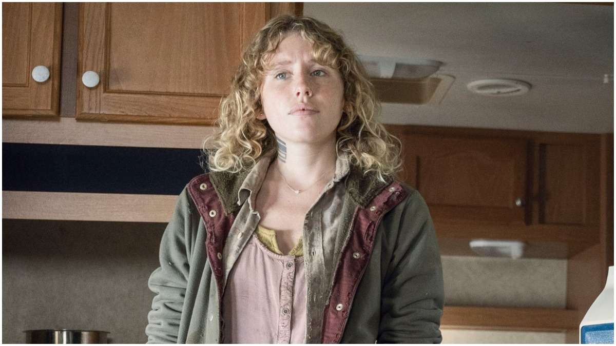Lindsley Register stars as Laura, as seen in Episode 22 of AMC's The Walking Dead Season 10C