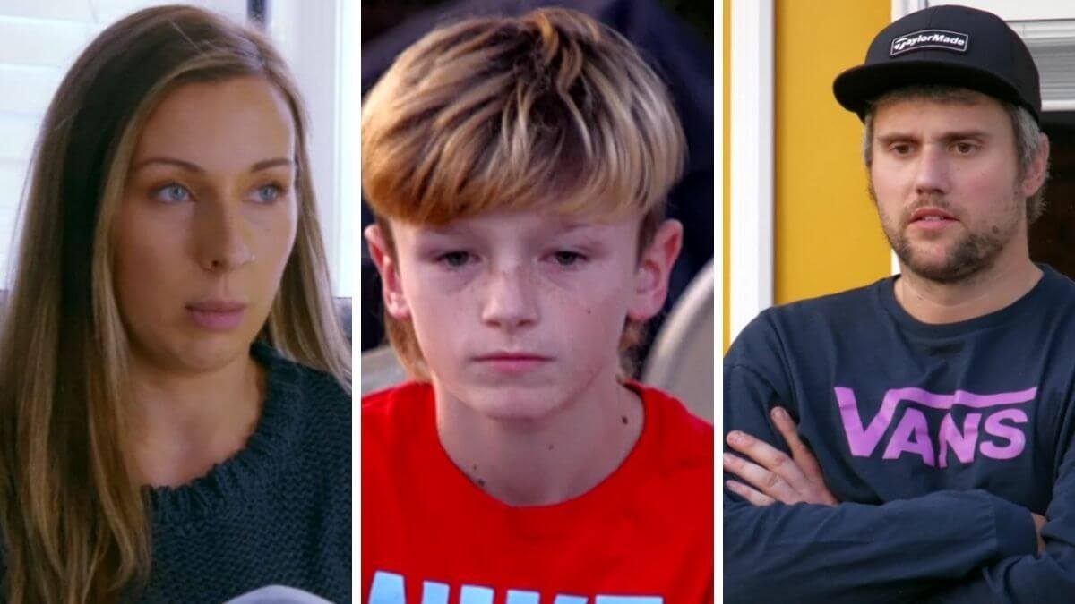Mackenzie, Bentley, and Ryan Edwards of Teen Mom OG
