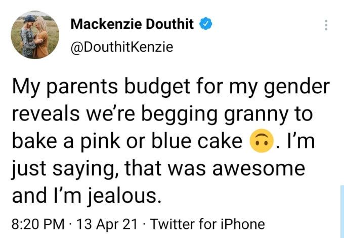 Mackenzie McKee of Teen Mom OG on Twitter