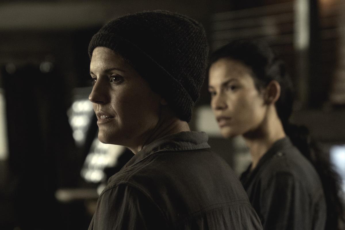 Maggie Grace as Althea and Danay Garcia as Luciana, as seen in Episode 11 of AMC's Fear the Walking Dead Season 6